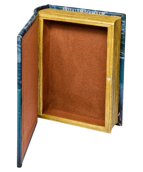 Moby Dick Storage Book Box - Open