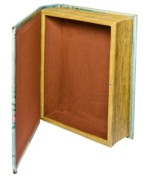 Aesops Fables Storage Book Box - Open