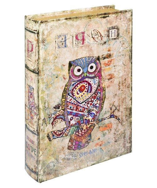 Hope Owl Storage Book Box - Front