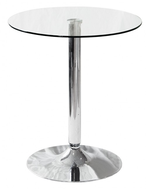 Glass Top Bistro Table