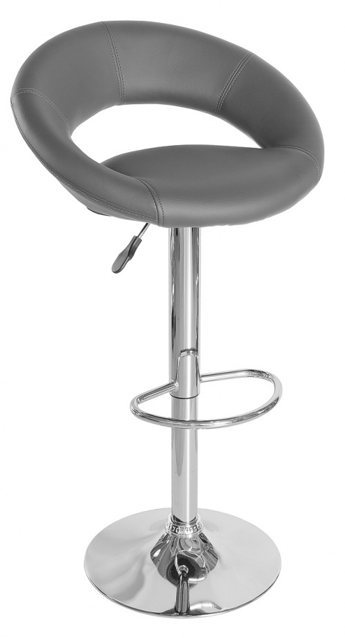 New Moon Bar Stool - Grey