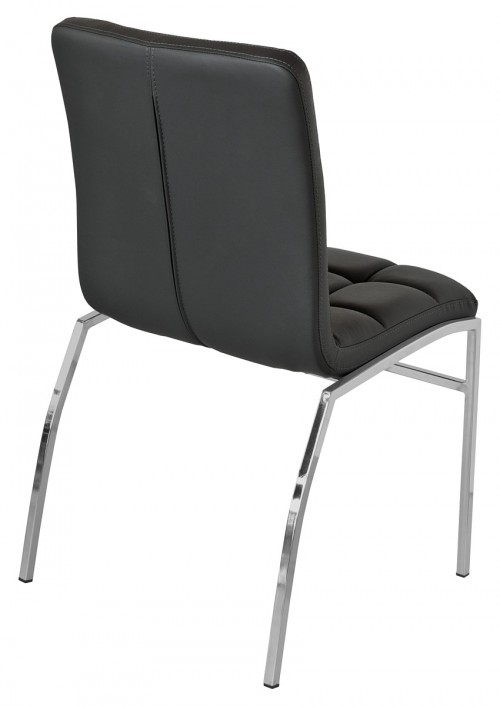 Coco Dining Chair - Black - Back