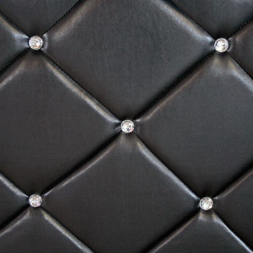 Crystal Miami Black Bar Unit - Diamante Close Up