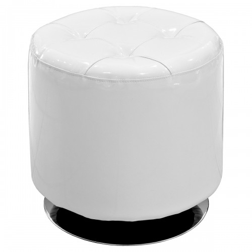 Spinning Drum Stool - Off-White