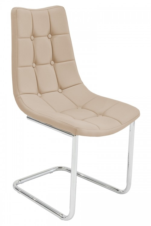 Menson Beige Dining Chair - Front