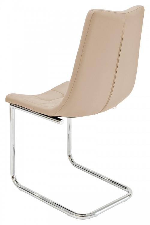 Menson Beige Dining Chair - Back