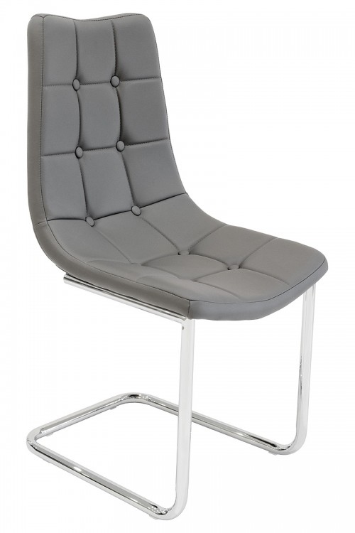 Menson Grey Dining Chair - Front