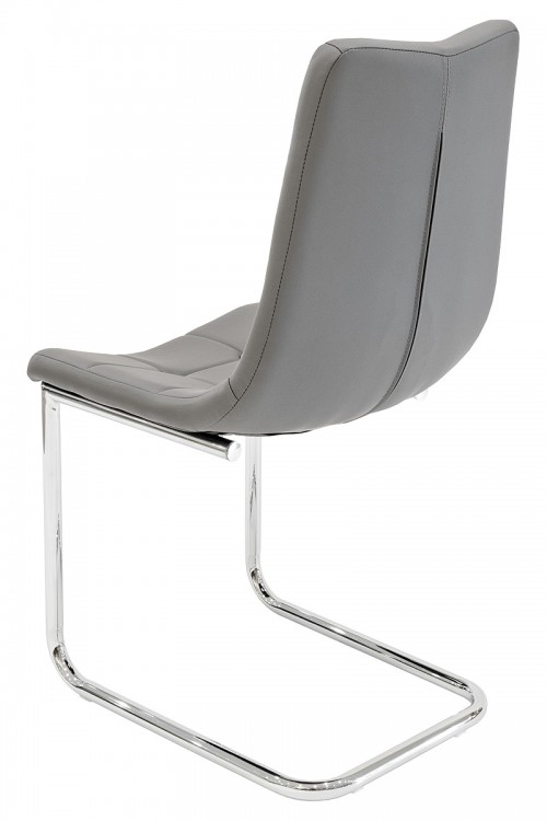 Menson Grey Dining Chair - Back