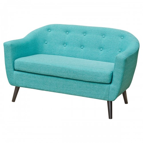 Cleo Two Seater Sofa in Teal