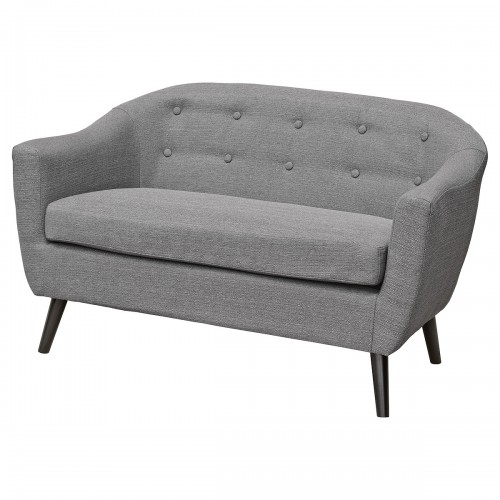 Cleo Two Seater Sofa in Grey