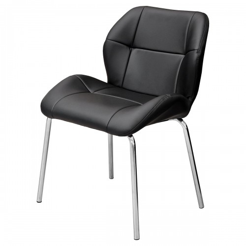Dinky Bistro Chair in Black PU