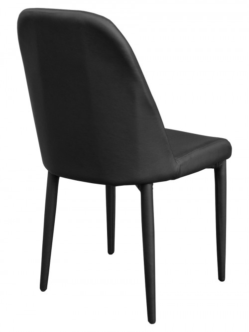 Riversway Black Dining Chair - Back