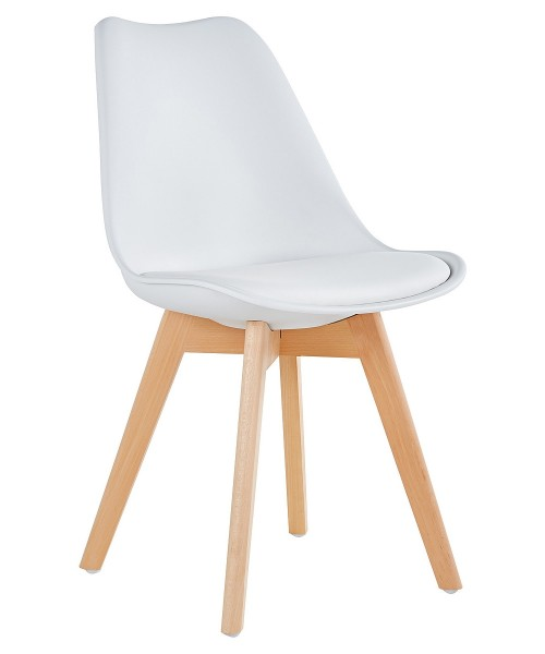 Rossall White Dining Chair