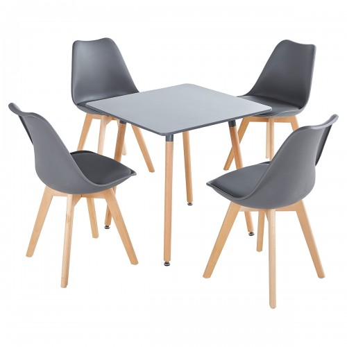 Rossall Grey Dining Table Set