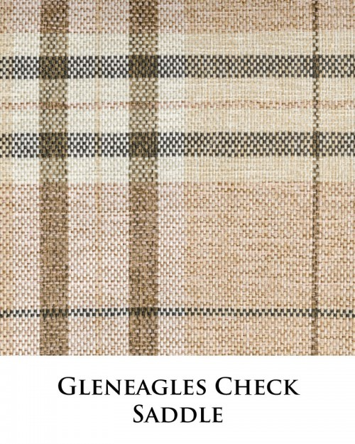 Gleneagles Check - Saddle