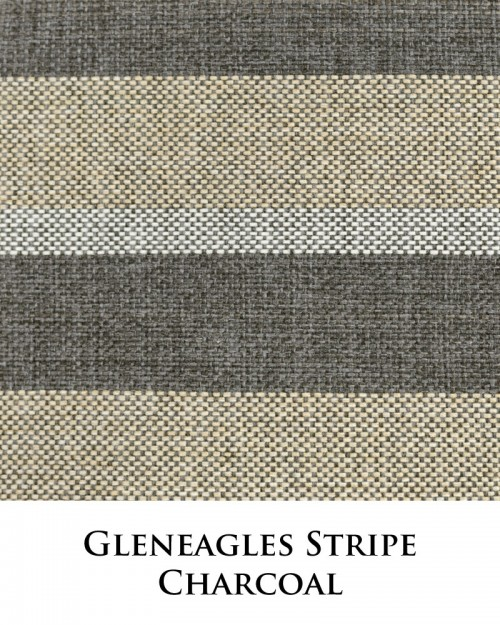 Gleneagles Stripe - Charcoal