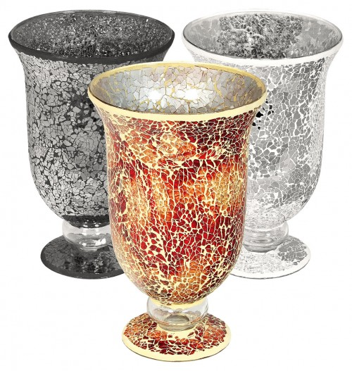 Mosaic Glass Large Hurricane