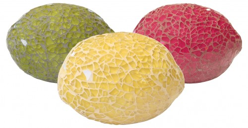 Mosaic Glass Lemon