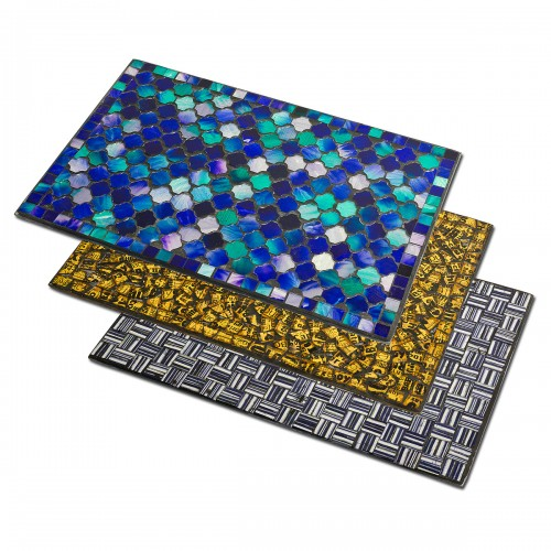 Mosaic Glass Place Mats