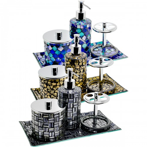 Mosaic Bathroom Set of Four
