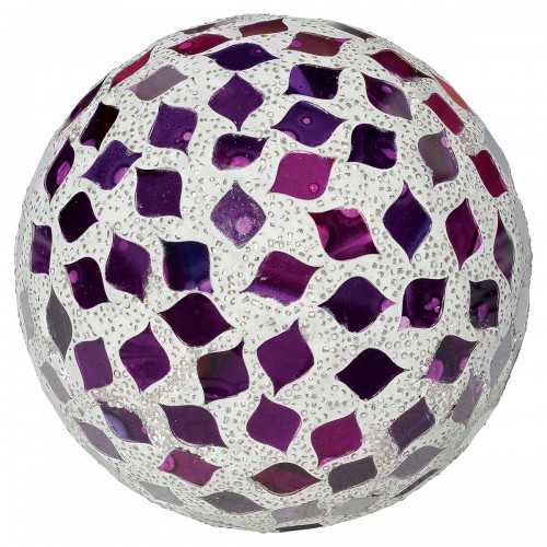 Large Mosaic Polyform Ball - Purple