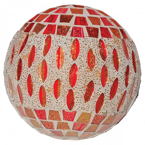 Large Mosaic Polyform Ball - Red