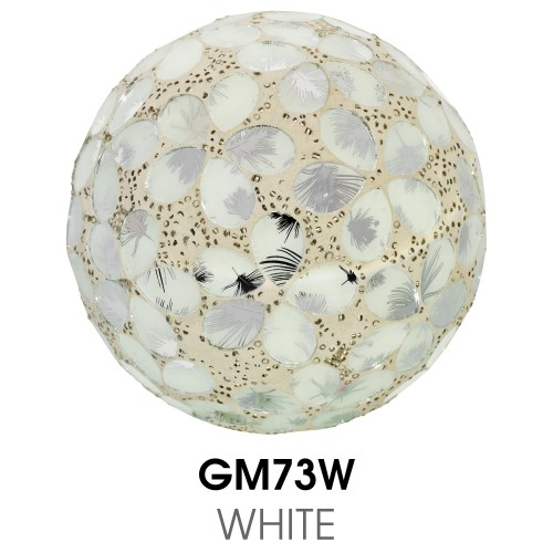 Medium Mosaic Polyform Ball - White
