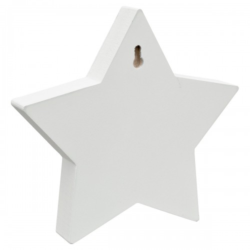 Mosaic Glass Standing Star Decoration Back