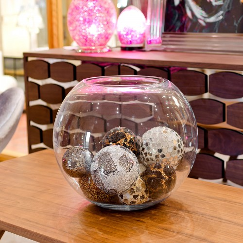 Large Glass Display Bowl as seen in our showroom