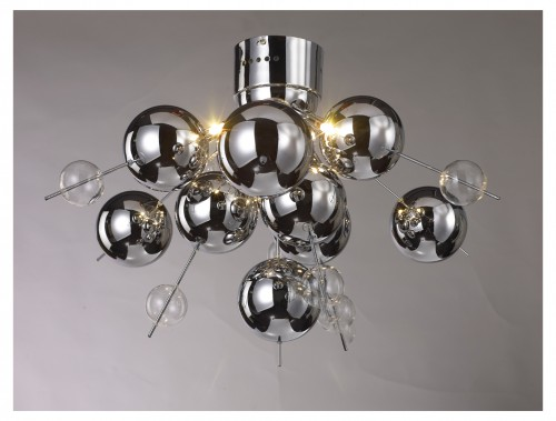 Chrome Ceiling Light