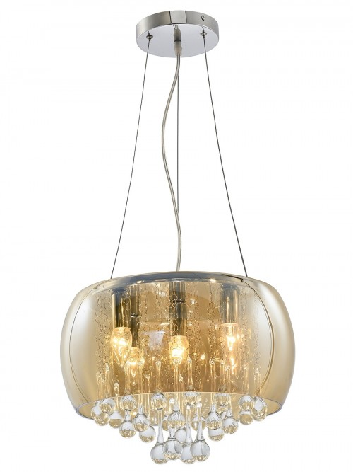 Smoked Shade Chandelier