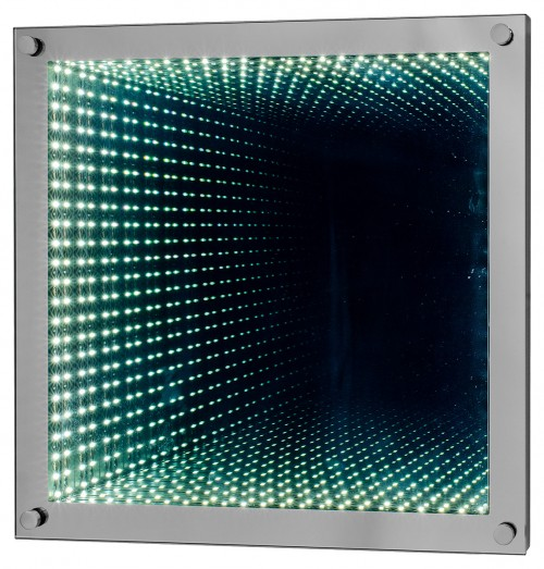 LED Time Tunnel Wall Mirror Light