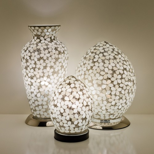 Mosaic Glass Lamps - Opaque Together