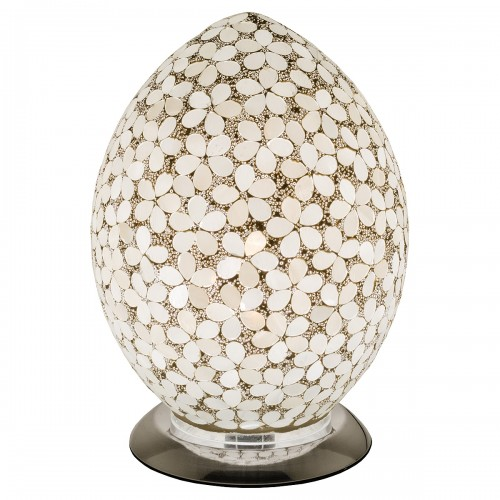 Mosaic Glass Egg Lamp - Opaque