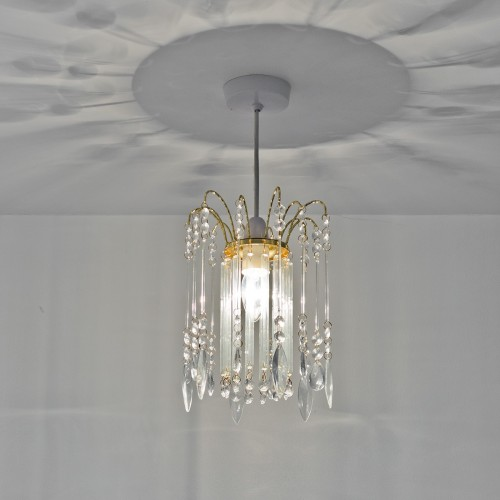 Pendent Lamp Shade - Clear Glass