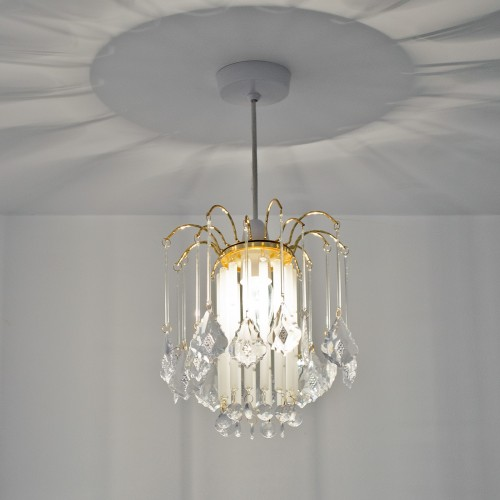 Pendent Lamp Shade - Frosted Glass