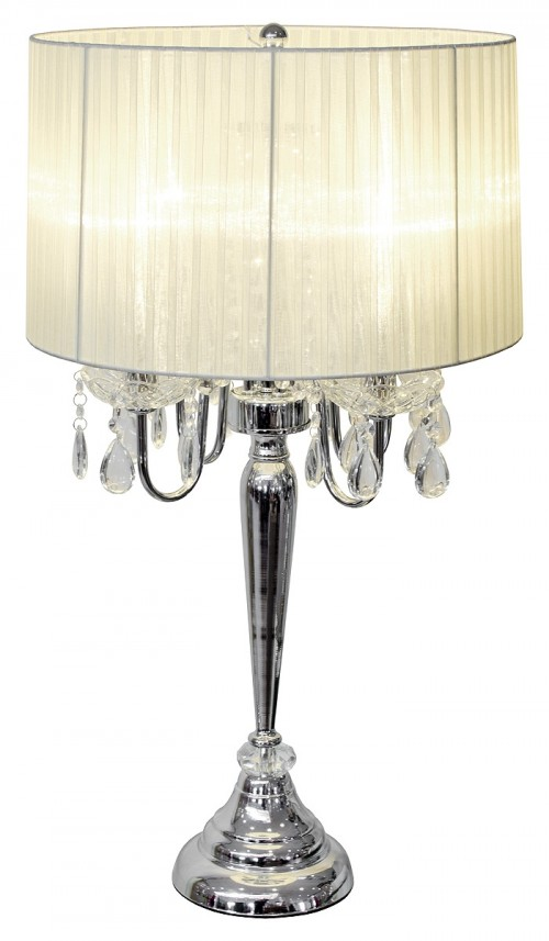 Beaumont Four Light Table Lamp - Cream