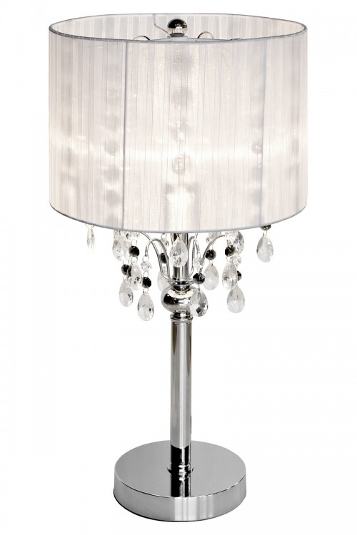 Spencer Bedside Table Lamp in White