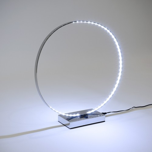 LED Ring Table Lamp