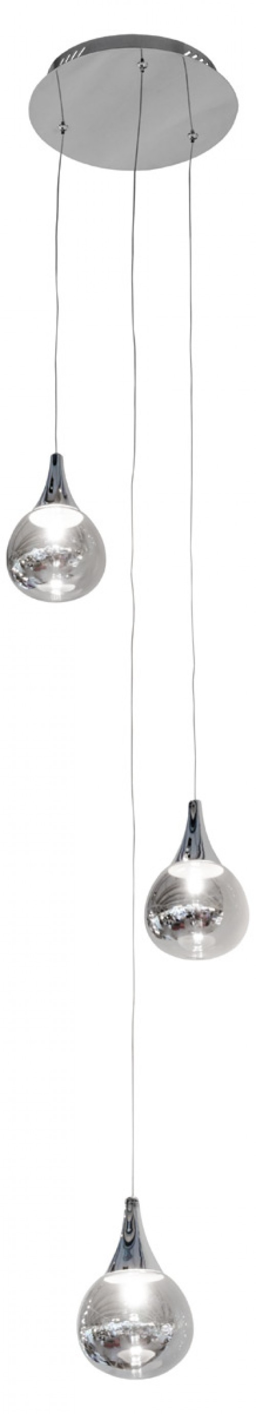 Mercury Droplet Pendant Light