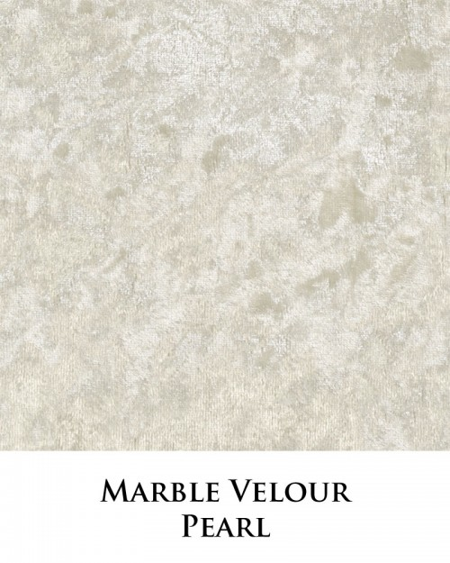 Marble Velour - Pearl