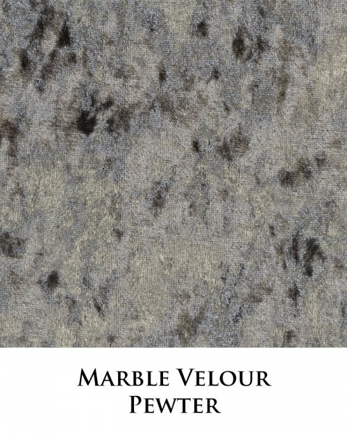 Marble Velour - Pewter