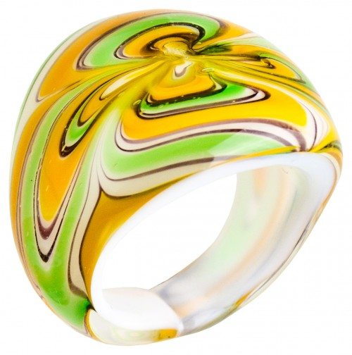Glass Fashion Ring Sample
