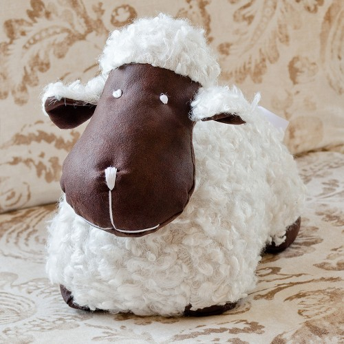 Sheep Doorstop Plush Door Stop