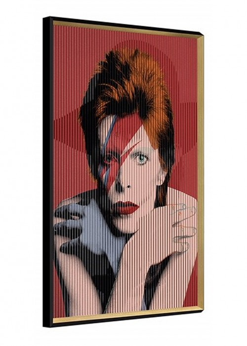 David Bowie Kinetic Wall Art