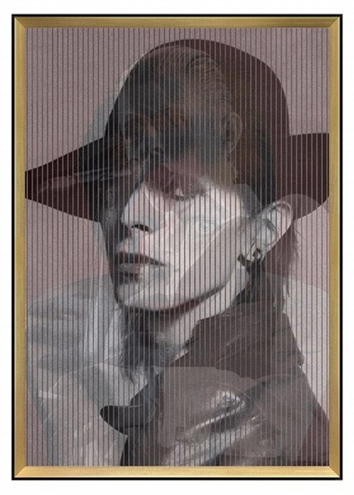David Bowie Kinetic Wall Art David Bowie Changing Wall
