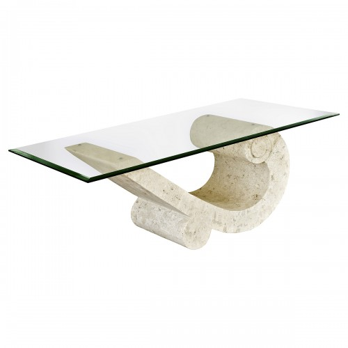 Sea Crest Mactan Stone Coffee Table
