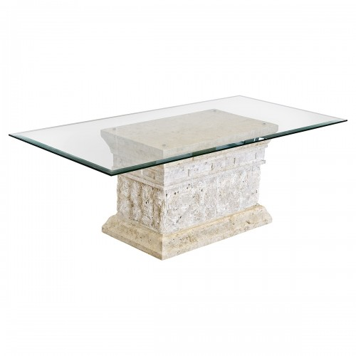 Marina Mactan Stone Coffee Table