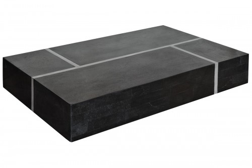 Black Stone Coffee Table