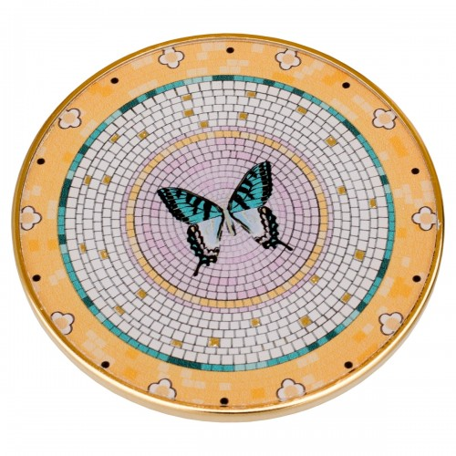 Coasters Circular Butterfly Design